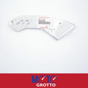 Right footrest heel guard for Kawasaki ER6F (11) , EX650 (09-10) , PN: 55020-0597