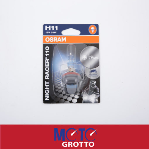 Headlight bulb for Osram Night Racer 110 H11 12V 55W () , PN: PGJ19-2 64211NR1-01B