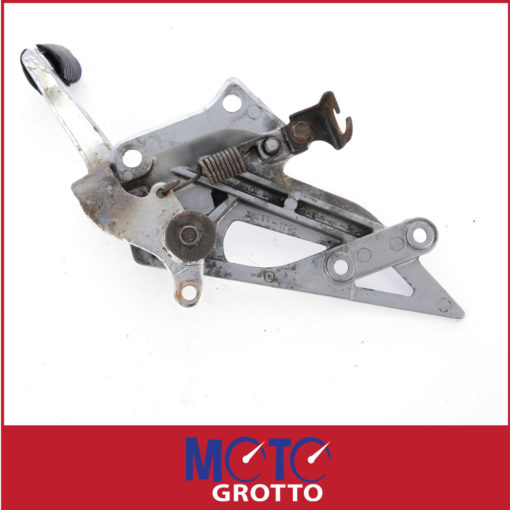 Rider footpeg hanger RH and rear brake lever assembly for Kawasaki ZZR250 (90-92) , EX250 (90-92) , PN: 35011-1526