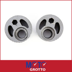 Eccentric rear wheel chain adjusters for Kawasaki ZZR1100 (90-93) , GPZ1000 (86-88)